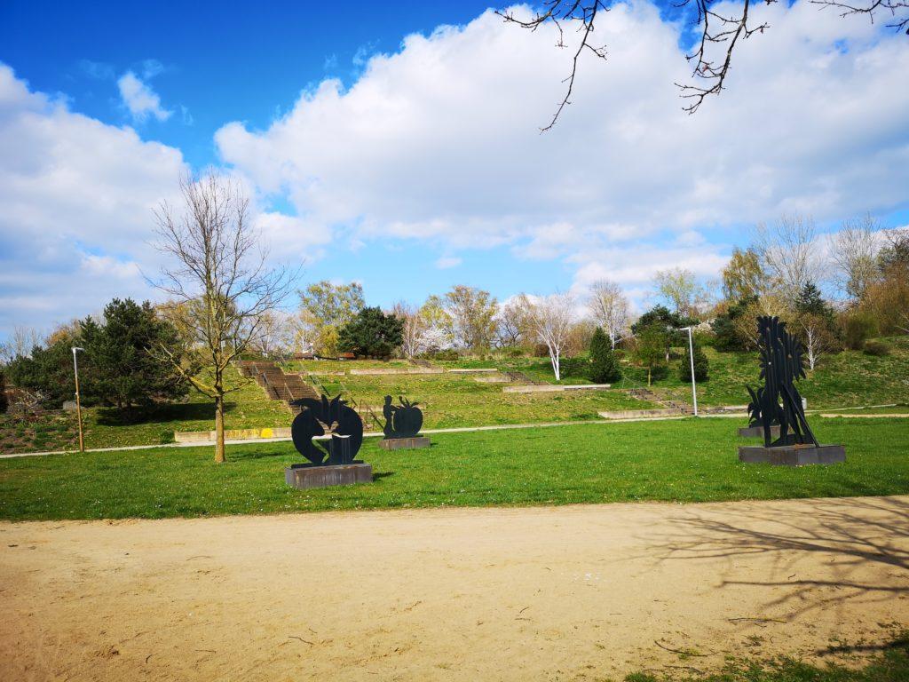 Вид на главный вход в парк